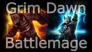 getlinkyoutube.com-Grim Dawn - Aether Battlemage Variant - Ultimate Capable (Featuring the Ch'thonian Nemesis Spawn!)