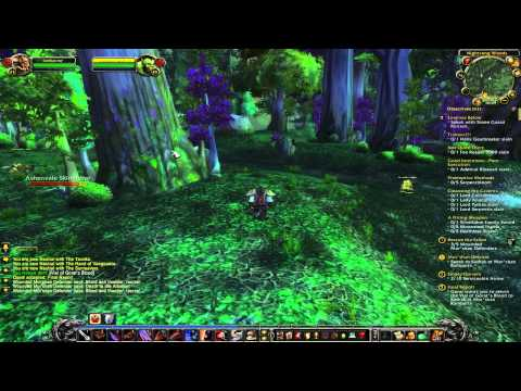 World of Warcraft Cataclysm: Ashenvale Introduction Quests