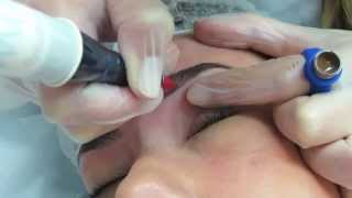 getlinkyoutube.com-تاتو حواجب, Tattoo eyebrows