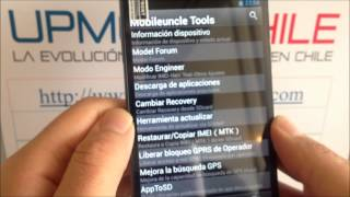 Reparar IMEI celular DualSim MTK6577, MTK6589, MTK6582 y MTK6592 por UPMOVILCHILE