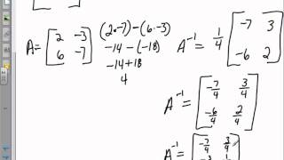 how to find the inverse of a matrix with calculator