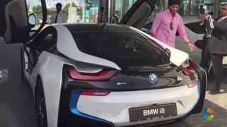 getlinkyoutube.com-It's not Ajith's BMW i8 – Its Dulquer Salmaan's car!
