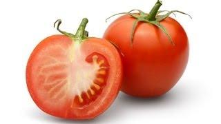 getlinkyoutube.com-Tomato Scrub- to remove acne,pimple,black marks-Fresh&glowing skin naturally