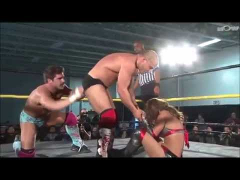 Shanna and Chris Dickinson vs Candice Lerae and Joey Ryan