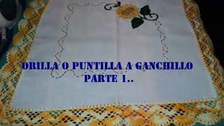 getlinkyoutube.com-PARTE 1 DE 3: ORILLA O PUNTILLA TEJIDA A GANCHILLO.