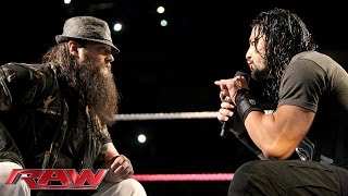 getlinkyoutube.com-Roman Reigns and Bray Wyatt have a sit-down discussion: Raw, October 19, 2015