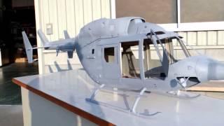 getlinkyoutube.com-BK117 C1 JA291F Blue Arrow Build Custome Scale RC Helicopter