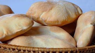 getlinkyoutube.com-اسهل طريقة لعمل الخبز العربي في البيت