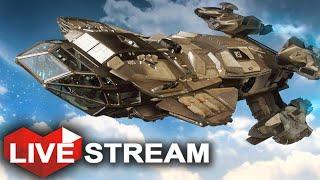 getlinkyoutube.com-Star Citizen 2.2.2 Gameplay | Andromeda | Live Stream (Part 2)