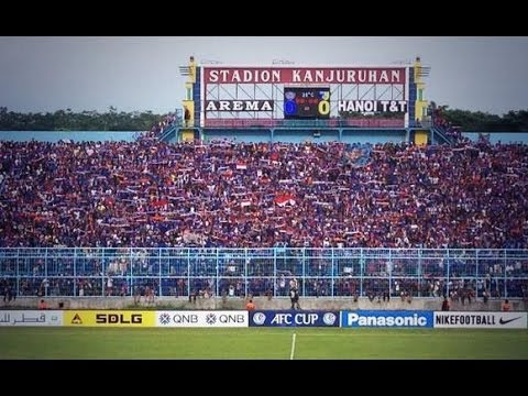 Arema Indonesia vs Hanoi T&T: AFC Cup 2014 (MD2)