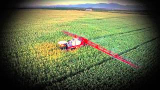 The new Agrifac Condor self propelled sprayer from Bardenas (ES)
