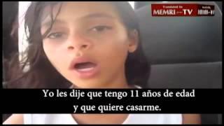 getlinkyoutube.com-Niña de 11 años huye del matrimonio (Nada Al-Ahdal) Subtitulado.