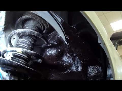 Новая тайота камри шумоизоляция и сетка в бампер