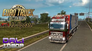 getlinkyoutube.com-Euro Truck Simulator 2 v1.22 Update World of Trucks Contracts PC Gameplay 60fps 1080p