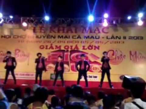 HKT-M The Five nhảy gangnam style