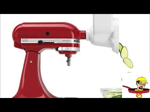KitchenAid Shredder/Slicer Attachment - PRODUCT REVIEW