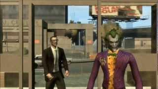 getlinkyoutube.com-BATMAN Death of the Smile part 1 (GTA 4 Machinima)