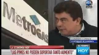 Entrevista A24 por Mauro Viale- Tarifazos e inseguridad
