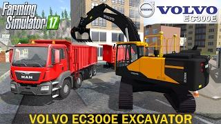 getlinkyoutube.com-Farming Simulator 17 VOLVO EC300E EXCAVATOR
