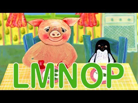 ABC Phonics L, M, N, O, P - HD Version