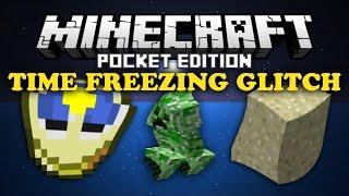 getlinkyoutube.com-✔ Time Freezing Glitch - Minecraft PE