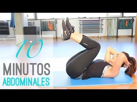 Rutina de abdominales 10 minutos