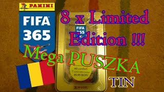 getlinkyoutube.com-Mega █▬█ █ ▀█▀ Puszka - 8 Limited Edition - FIFA 365 - karty Panini - cards - Adrenalyn xl