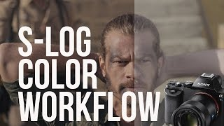 getlinkyoutube.com-Easy S-LOG Color Grading Workflow (A7S / FS7)