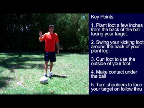 How to do a Rabona - Soccer Tricks like Cristiano Ronaldo