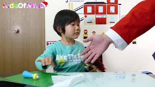 getlinkyoutube.com-サンタクロース クリスマス プレゼント おもちゃ そうちゃん Kid Christmas Surprise Present from Santa Claus