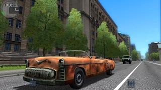 getlinkyoutube.com-City Car Driving 1.5.3 Fallout Chryslus Corvega TrackIR 4 Pro [1080P]