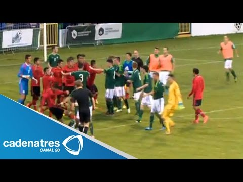 ¡ENTÉRATE! Jugadores de México Sub-20 protagonizan pelea campal contra irlandeses