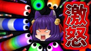 getlinkyoutube.com-【ゆっくり実況】うp主、激怒!?ミミズ版Agar.ioで泣きました!!【Slither.io】