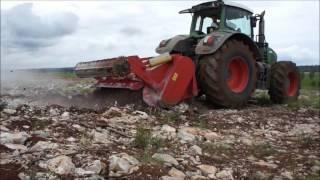 getlinkyoutube.com-SEPPI M. - MAXISOIL - soil tiller / fresa del suolo / Rodungsfräse