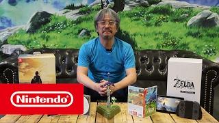getlinkyoutube.com-The Legend of Zelda: Breath of the Wild - Limited Edition - Mr Aonuma unboxing