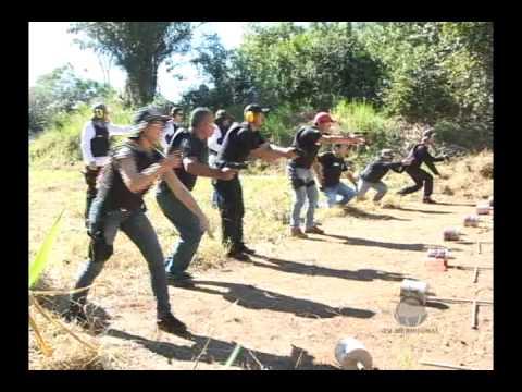 CURSO DE TIRO DA POLICIA CIVIL EM CACOAL