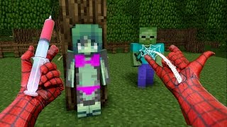 getlinkyoutube.com-REALISTIC MINECRAFT ~ SPIDERMAN