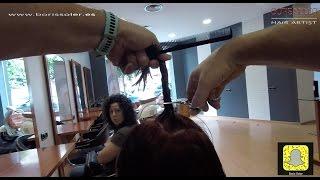 getlinkyoutube.com-Como cortar el pelo a capas paso a paso y muy facil