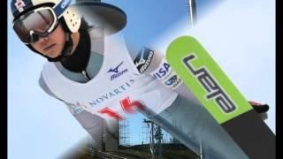 getlinkyoutube.com-【韓国ホットニュース】ジャンプの高梨沙羅 平昌冬季五輪ジャンプ台で練習