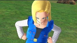 getlinkyoutube.com-Dragonball Raging Blast 2: Android 18's Galaxy Mode