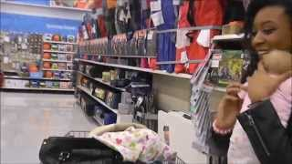 getlinkyoutube.com-Reborn Outing at Walmart With Reactions!