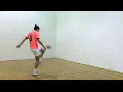 Advanced Soccer First Touch Series | Racquetball Court | YFutbol | brands of drills