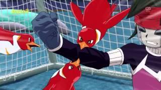 getlinkyoutube.com-Inazuma Eleven GO Chrono Stone-La mano del pingüino