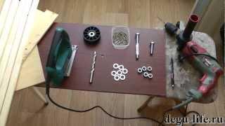 getlinkyoutube.com-Сделай сам. Деревянное колесо для дегу и шиншилл.