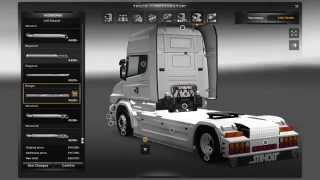getlinkyoutube.com-Euro Truck Simulator 2-Customization Scania T