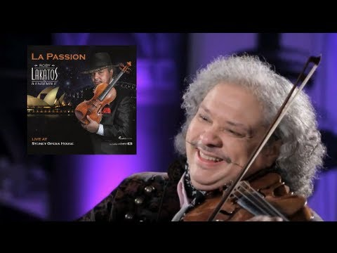 ROBY LAKATOS plays « Du Schwarzer Zigeuner » from the new album 'LA PASSION'