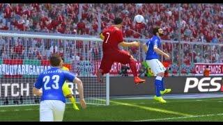 getlinkyoutube.com-PES 2015 - Cristiano Ronaldo Skills & Goals [HD] Issam Chawali