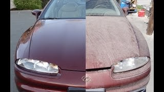getlinkyoutube.com-Buffing Car DIY Buff Cars Detailing How To Auto Detail Before & After Video