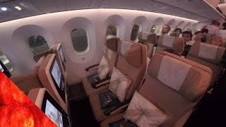 getlinkyoutube.com-Etihad Airways B787-9 Dreamliner Smart(Economy) Seat review to Zurich شركة الاتحاد للطيران