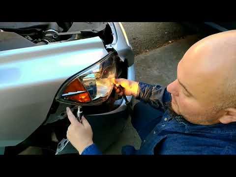 Замена лампочки за 50$ in Chevrolet Malibu headlights bulb replacement Pan Zmitser